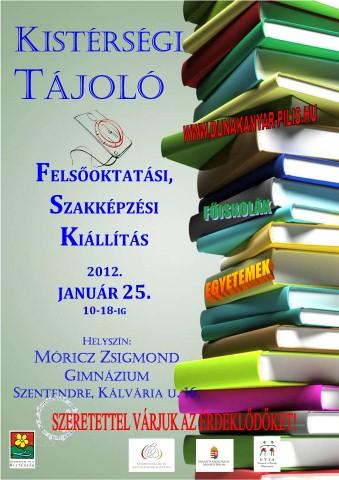 Kistérségi Tájoló – egyetemek-főiskolák a Móriczban