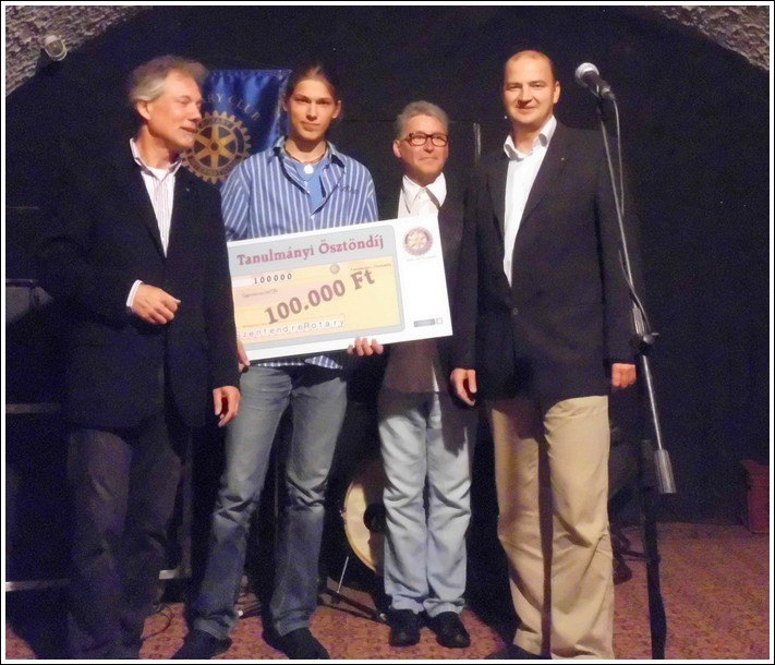 Németh Bendegúz lett a Rotary Club ösztöndíjpályázatának győztese