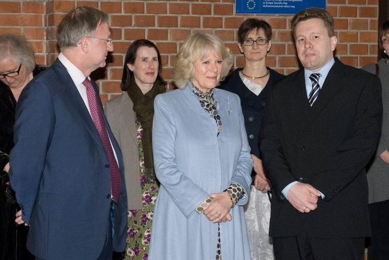 Ökirályi Fensége Kamilla, Cornwall Hercegnöjének látogatása iskolánkban