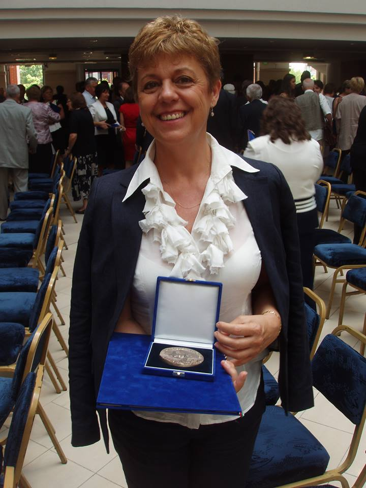 Gratulálunk dr. Cseriné Andirkó Éva tanárnőnek!