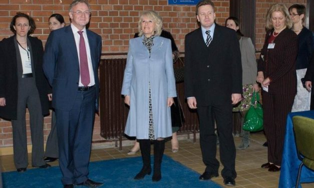 Kamilla hercegnő látogatása iskolánkban II.