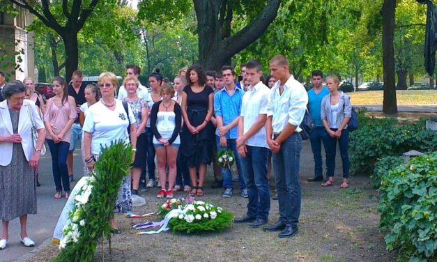 Megemlékezés Móricz halálának 70. évfordulójáról 2012